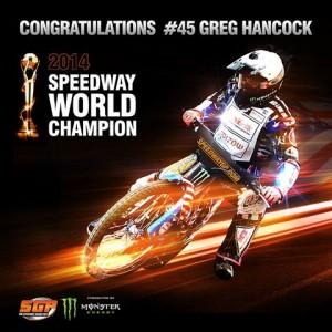 Greg Hancock Campione del Mondo SGP 2014
