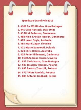 Riders Speedway Grand Prix 2016